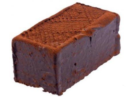 Chocolade truffelschnitte