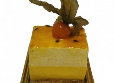 Suikerarm mango gebak