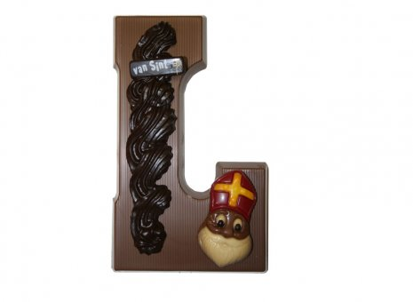 Chocolade letter L