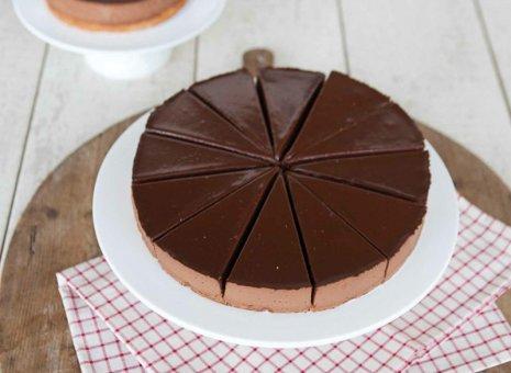 Chocolade Truffeltaart dudok