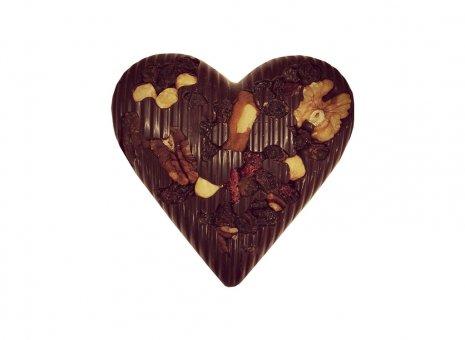 Chocolade hart puur