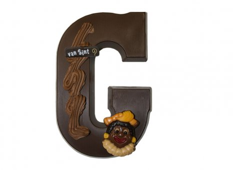 Chocolade letter G