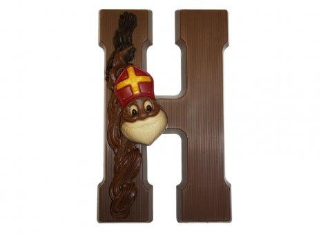 Chocoladeletter H