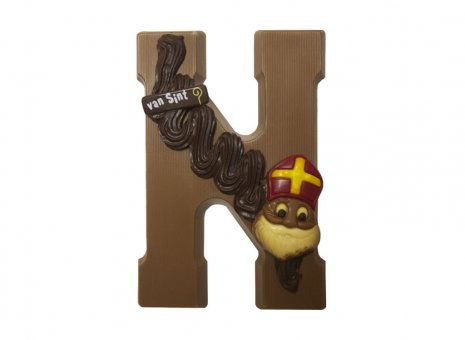 Chocolade letter N