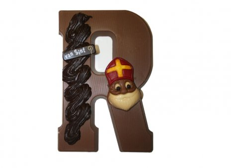 Chocolade letter R
