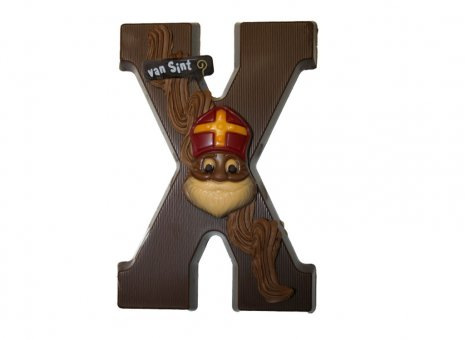 Chocolade letter X
