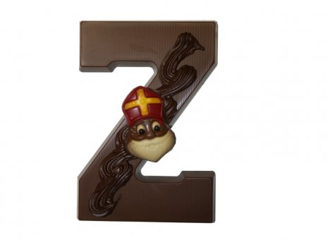 Chocolade letter Z