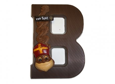 Chocolade letter B