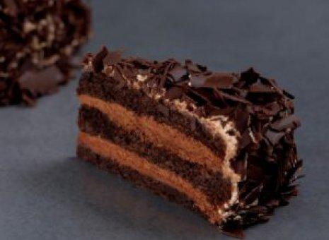 Dudok black velvet taart 14 punts