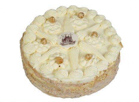 Hazelnootcrème taart