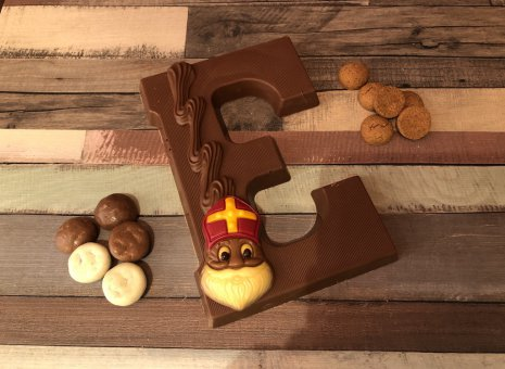 Chocolade letter E