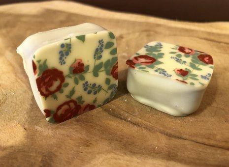 Bloemen bonbon wit