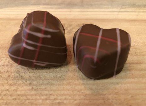 Aardbeien hartjes