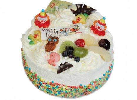 Slagroom kinder taart
