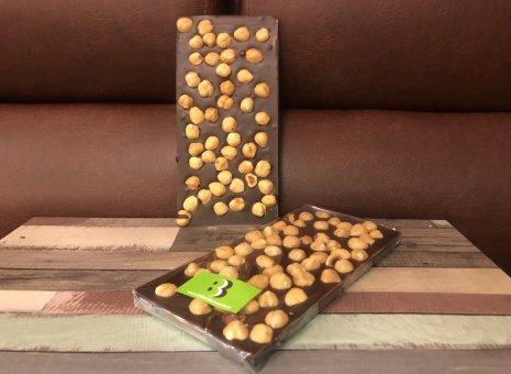 Chocolate bar puur met hazelnoten