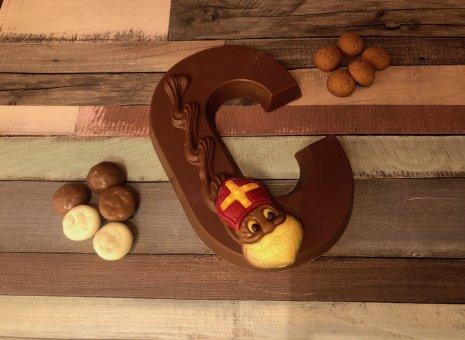 Chocolade letter C