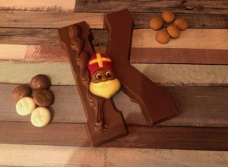 Chocolade letter K