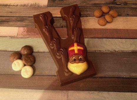 Chocolade letter V