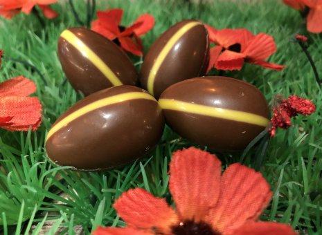 Chocolade paaseitje met speculoos