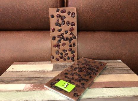 Chocolate bar melk met cranberries