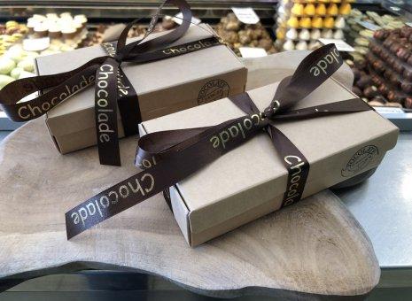 Doosje bonbons kartonlook