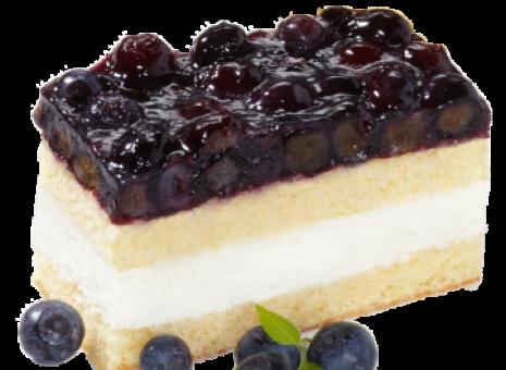 Lactose en glutenvrij bosbessen gebak