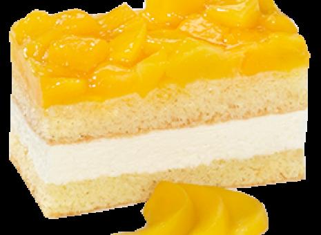 Lactose en glutenvrij perzik gebak