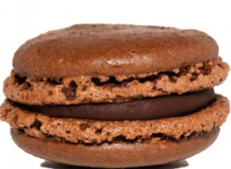 Chocolade macaron