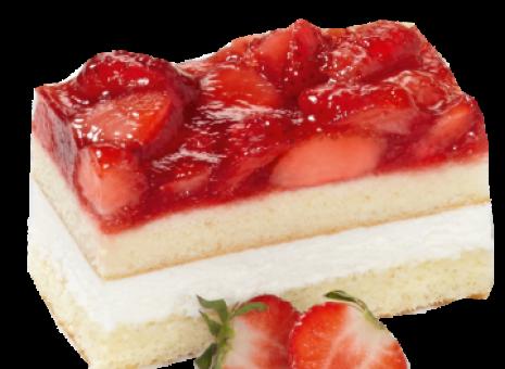 Lactose en glutenvrij aardbeien gebak