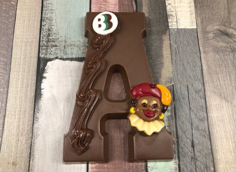 Chocolade letter A