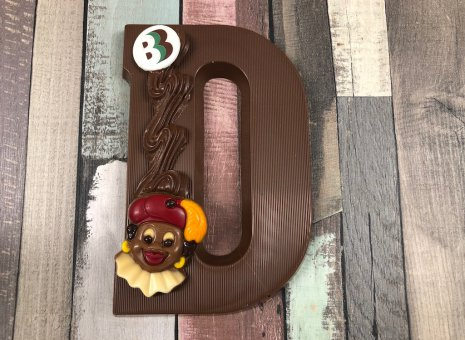 Chocolade letter D