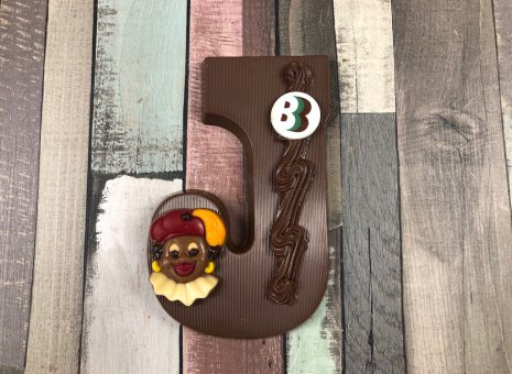Chocolade letter J