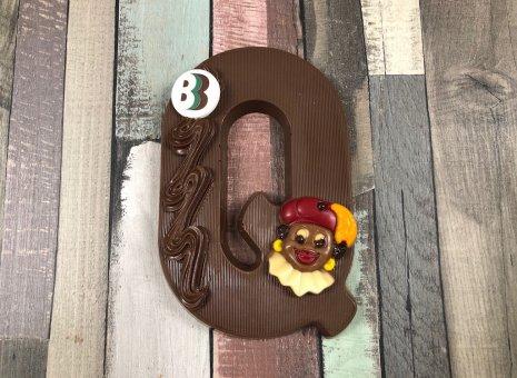 Chocolade letter Q