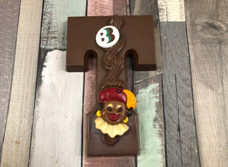 Chocolade letter T