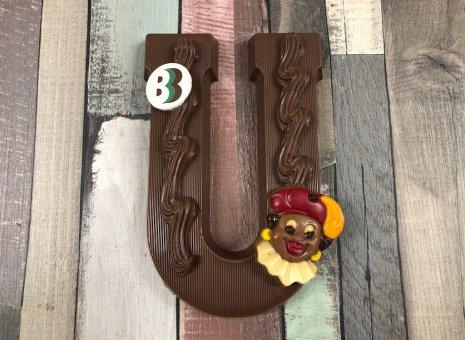 Chocolade letter U