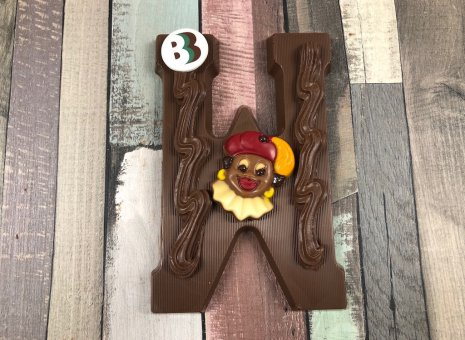 Chocolade letter W