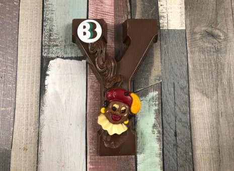 Chocolade letter Y