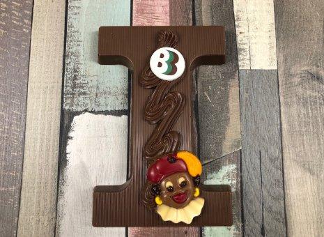 Chocolade letter i