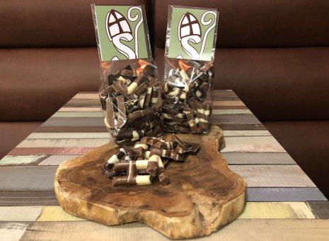 Mini chocolade lettertjes