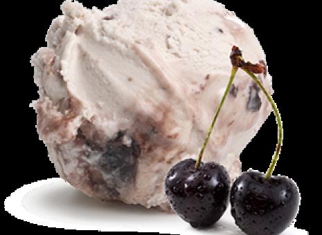 Yoghurt amarenen roomijs (wisselsmaak)